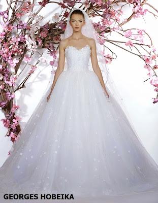 Vestido de novia 2015 de Georges Hobeika