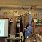 Lois Lowry shares her creative process with a rapt crowd