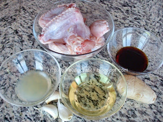 Aripioare de pui marinate la cuptor ingrediente