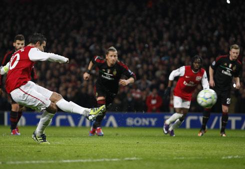 Robin van Persie, Arsenal - AC Milan