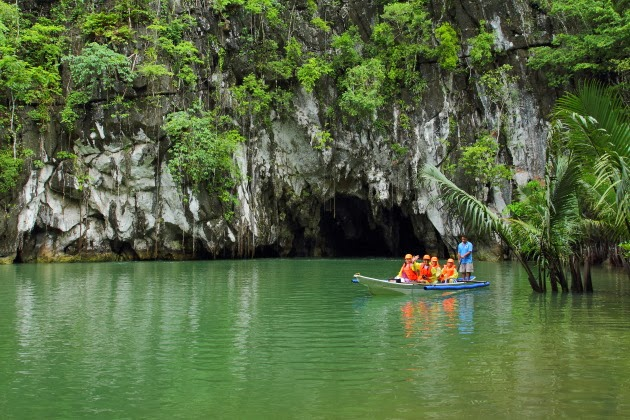 Sabang underground river - one of the new 7 natural wonders of the world