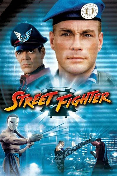 Poster Of Street Fighter (1994) Full Movie Hindi Dubbed Free Download Watch Online At alldownloads4u.com