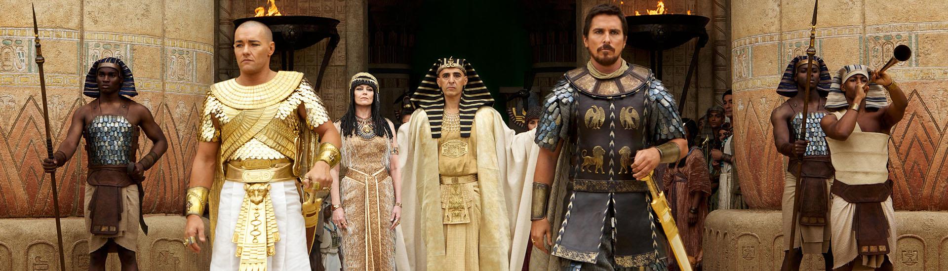 Baner filmu 'Exodus: Bogowie i Królowie'
