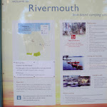 Information sign at Rivermouth camping area