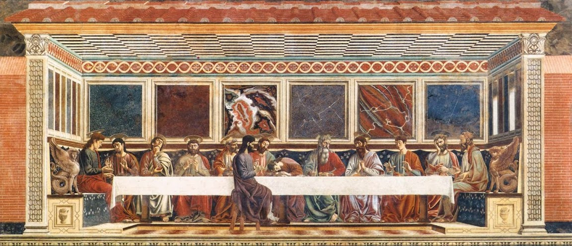 Andrea del Castagno - Last Supper - 1447