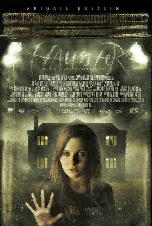 Poster Of English Movie Haunter (2013) Free Download Full New Hollywood Movie Watch Online At Alldownloads4u.Com