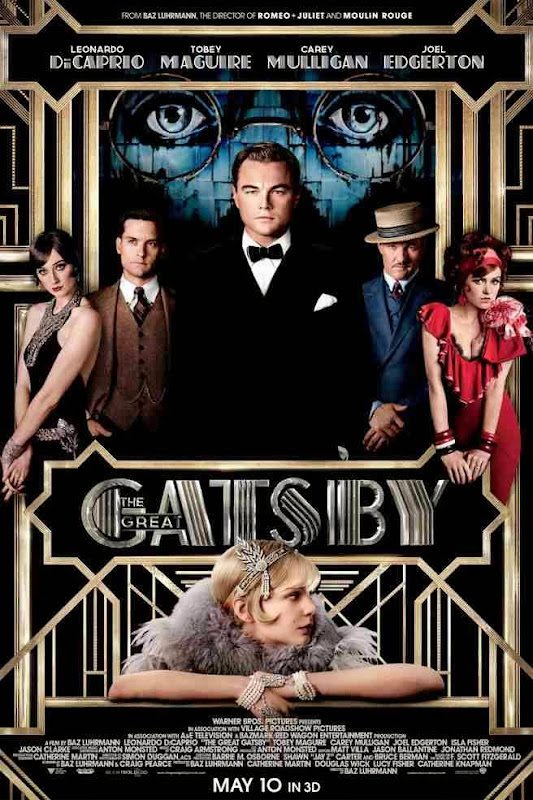 Poster Of English Movie The Great Gatsby (2013) Free Download Full New Hollywood Movie Watch Online At Alldownloads4u.Com