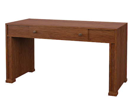 Hillside Writing Desk in Washington Quarter Sawn Oak
