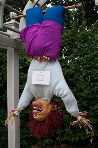 Scarecrows in the Garden exhibit