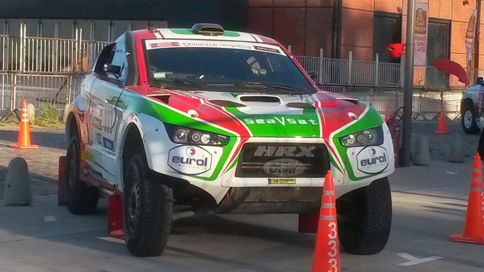 Rally Dakar en Rosario, 2014