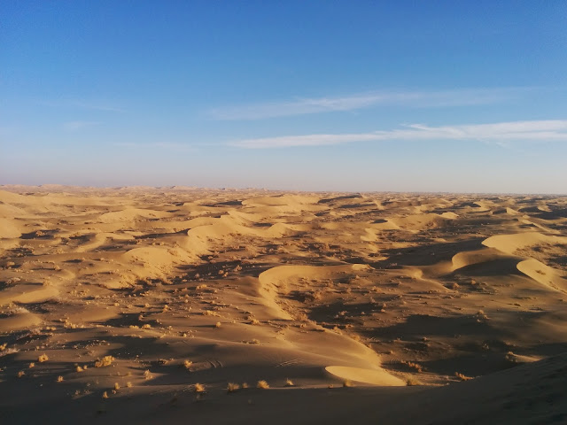 The Rolling Sand dunes of Verzaneh