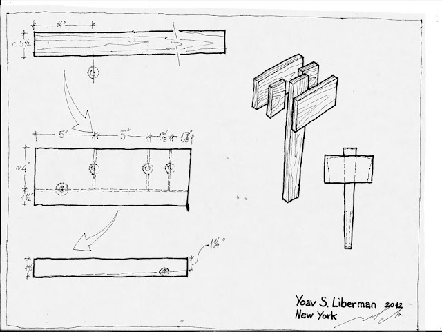 PDF DIY Free Wooden Mallet Plans Download knockdown ...