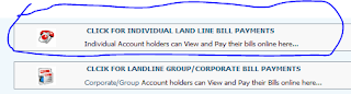 HOW TO VIEW AND ONLINE PAY BSNL LANDLINE AND BROADBAND BILLS WITH 1% DISCOUNT