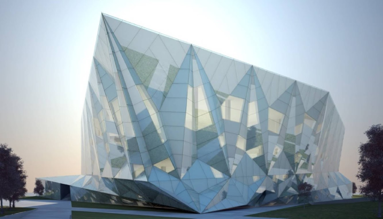 06 Datong Library by Preston Scott Cohen