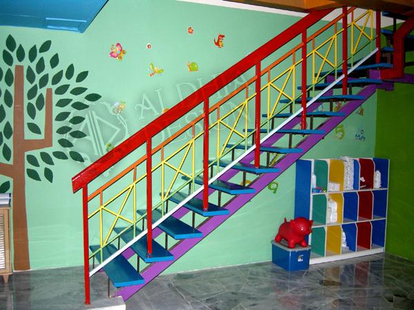 aldhia design projek mural untuk taska safari kids