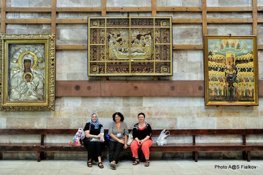 Церковь Воскресения в Храме Гроба Господня. Экскурсия по Иерусалиму. Гид в Израиле Светлана Фиалкова.