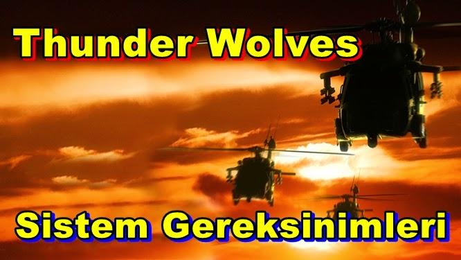 Thunder Wolves PC Sistem Gereksinimleri