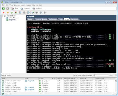 Virtualizar equipo físico con Linux en VMware ESXi con vCenter Converter Standalone