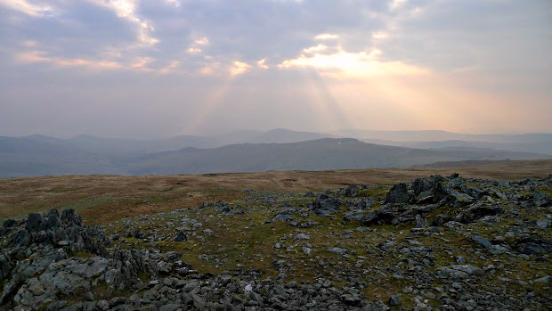Foel Grach in early morning light