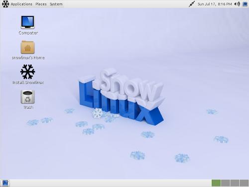 """Snowlinux 3 """"Crystal"""""""
