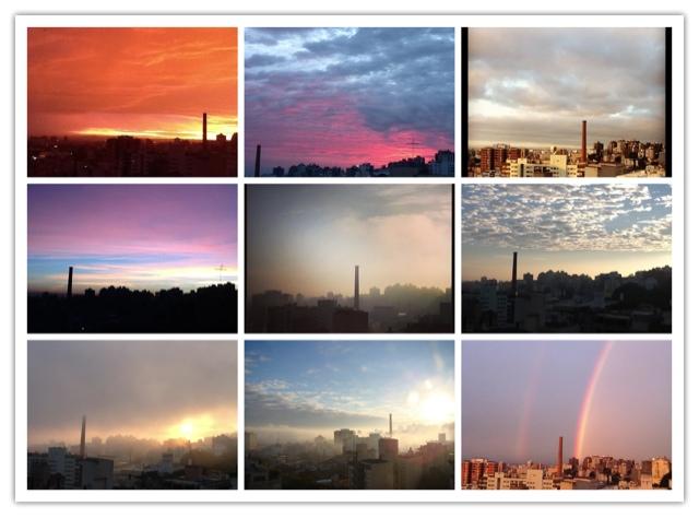 Fotos do céu de Porto Alegre