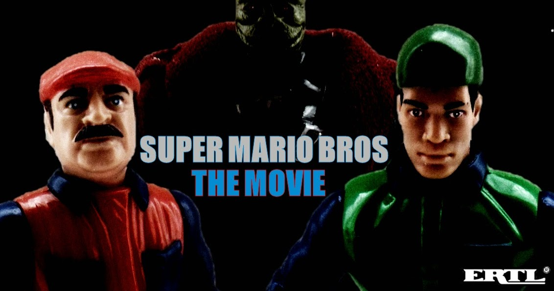 Movie Tie In Toys Super Mario Bros The Movie Ertl 1993