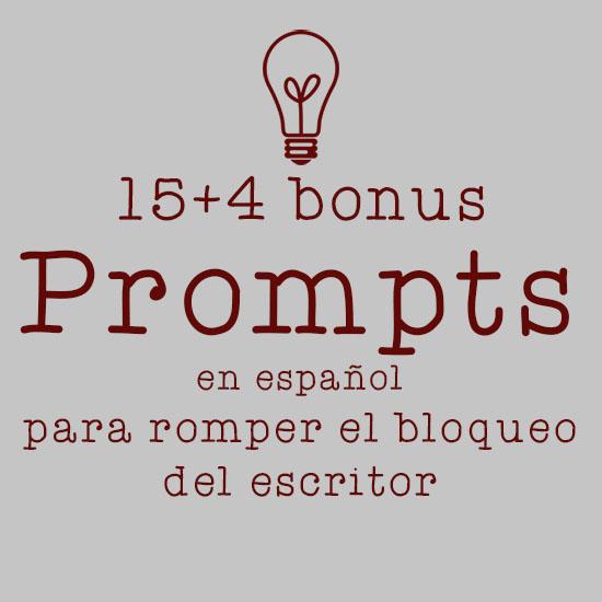 prompts en español nanowrimo desbloqueo escritor