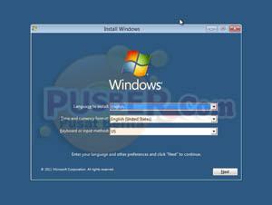Cara instal windows 8, Cara menginstall windows 8