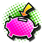 piggy-bank save icon
