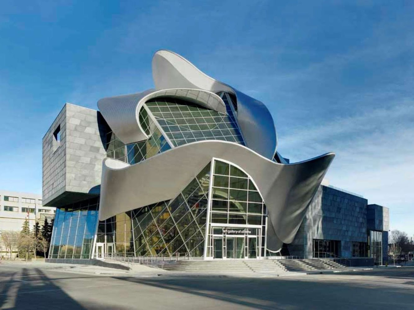 Edmonton, Alberta, Canada: Art Gallery of Alberta by Randall Stout Architects