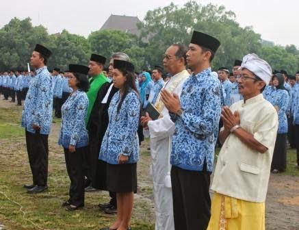 Pengumuman lowongan CPNS/PNS Kota/Kabupaten