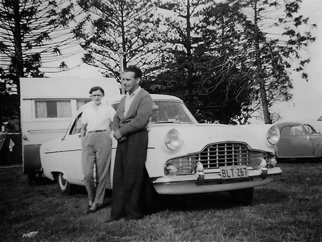 Adventure Before Dementia Caravan Holiday 1958
