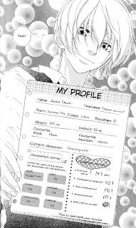 Ando profile taken from volume 8