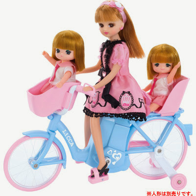 xe đạp dành cho búp bê Licca