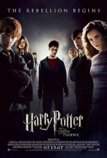 Poster Of English Movie Harry Potter and the Order of the Phoenix (2007) Free Download Full New Hollywood Movie Watch Online At Alldownloads4u.Com