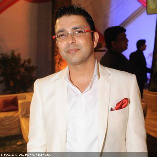 Kushal Rana during the wedding ceremony of Ragini and Ashok, held in Delhi.
