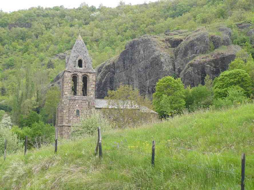 L'église de Sainte-Marie-des-Chazes