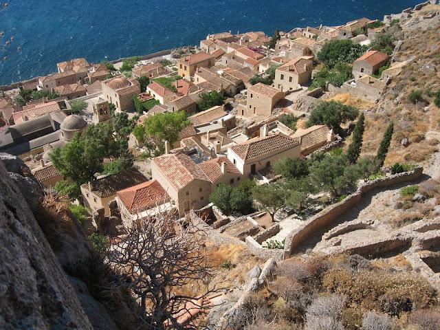 Blog de voyage-en-famille : Voyages en famille, Monemvassia