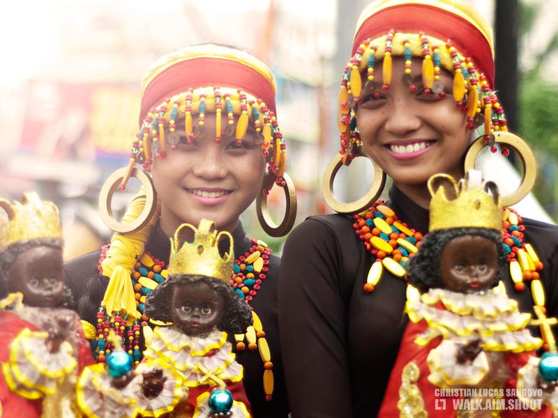 Dinagyang Gals at Iloilo City