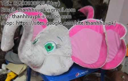 cho thuê trang phục con voi cuto
