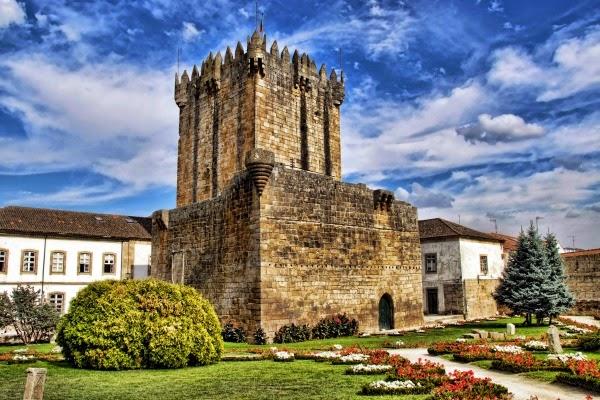 Castillo de Chaves, Portugal