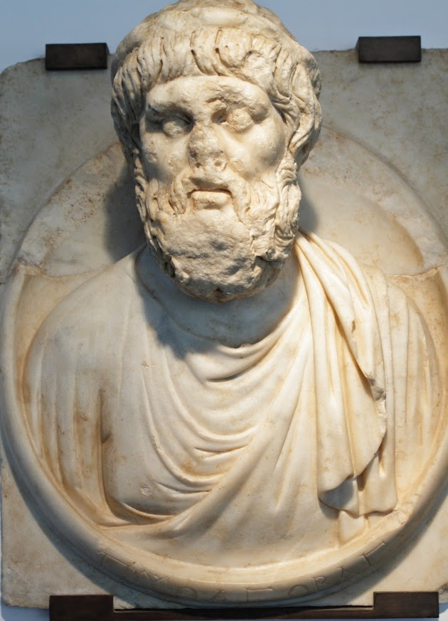 Pythagoras from Aphrodisias Museum, Turkey