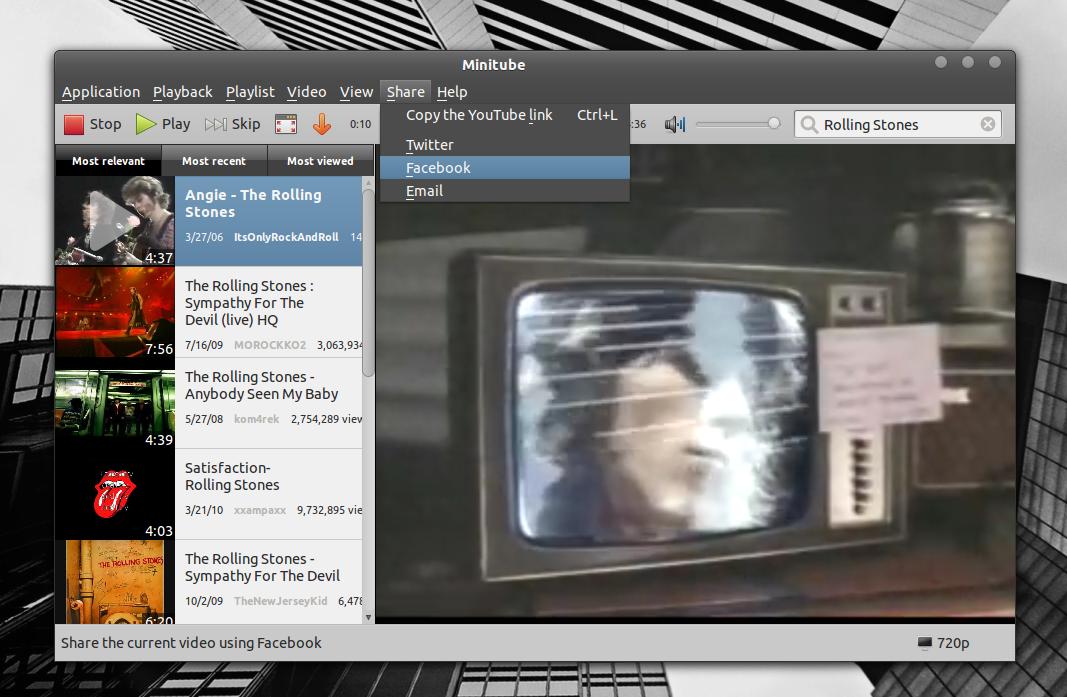 Install Minitube 1 6 (YouTube Desktop Application) In Ubuntu ~ Web