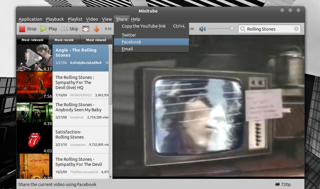 Install Minitube 1 6 (YouTube Desktop Application) In Ubuntu