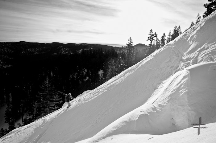 Becker Peak, Meghan Kelly, Tahoe Backcountry, Backcountry Skiing, Powder