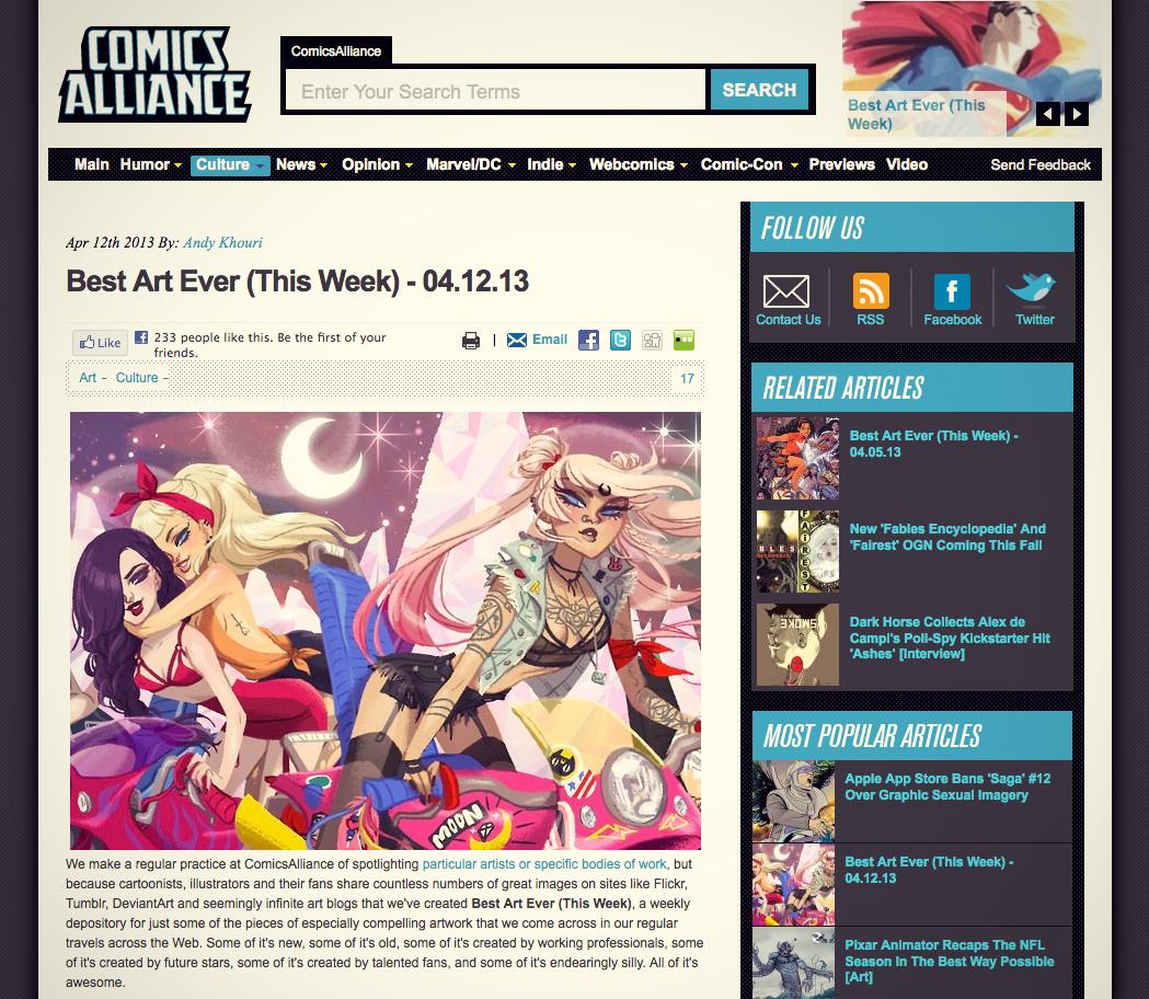 comics alliance, best art ever this week, comic fanart, fanartist, comission fanart, tim burton spiderman, san diego artist alley, sdcc artist alley