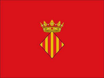 флаг Xàtiva, Jativa, Хатива, CostablancaVIP, Valencia, Валенсия, Замок Хативы, Plaza de Toros, Casrello de Xativa, туризм, VIP туризм, путешествие по Испании, недвижимость в Испании, Коста Бланка