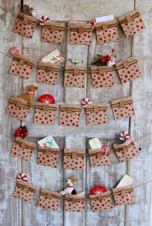 Inspired by you: Christmas Countdown Advent Calendar