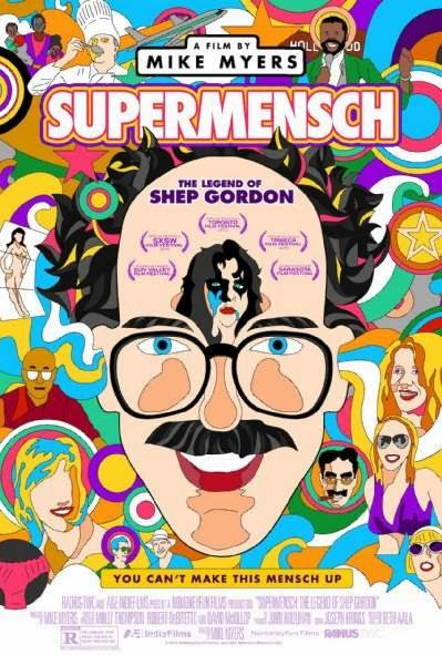 Poster Of English Movie Supermensch: The Legend of Shep Gordon (2013) Free Download Full New Hollywood Movie Watch Online At Alldownloads4u.Com