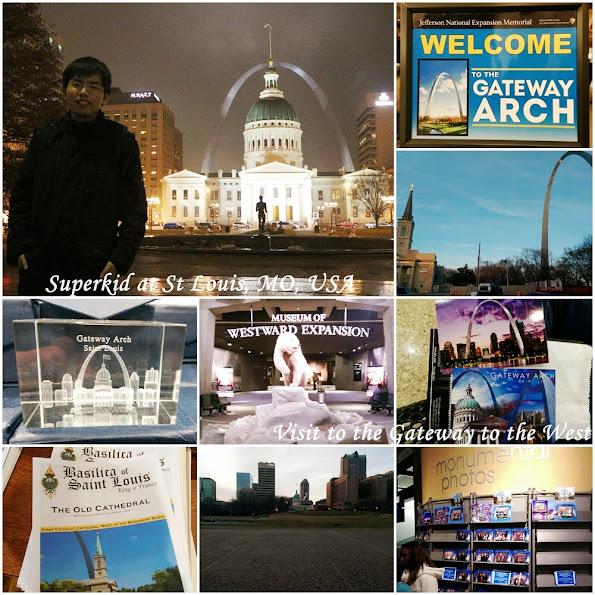 Superkid在聖路易大拱門!!!